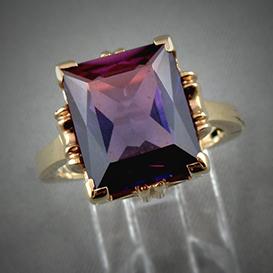 Bijoux pierres synthétiques