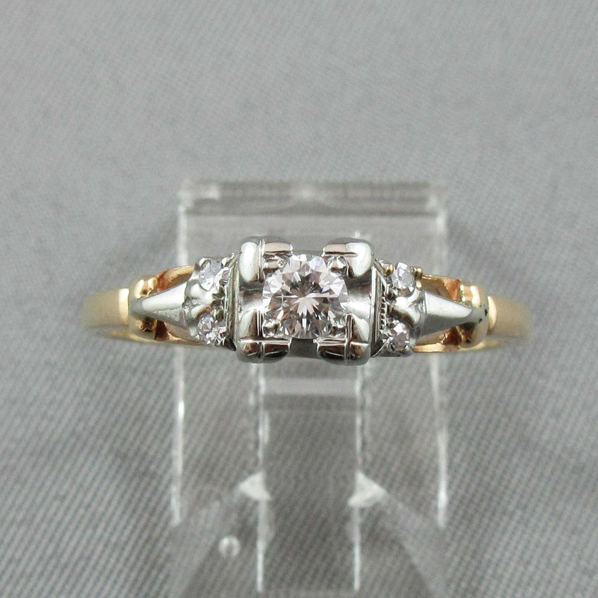 bague diamant 14k