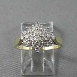 Bague 24 diamants, 14K or jaune et blanc B5882-1.jpg