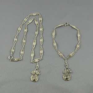 collier bracelet argent marcassites B5994-1.jpg