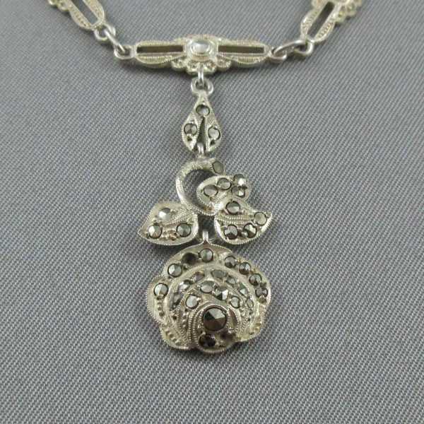 collier argent marcassites B5994-3.jpg