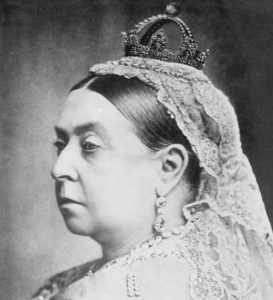 Victoria. Reine de Grande-Bretagne et impératrice des Indes. Photographie, 1898. (Collection Yves Beauregard)