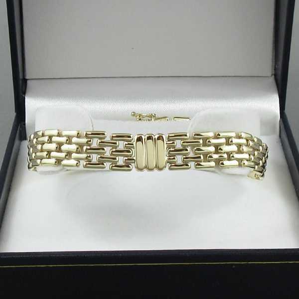 Bracelet 14K jaune B6116-1