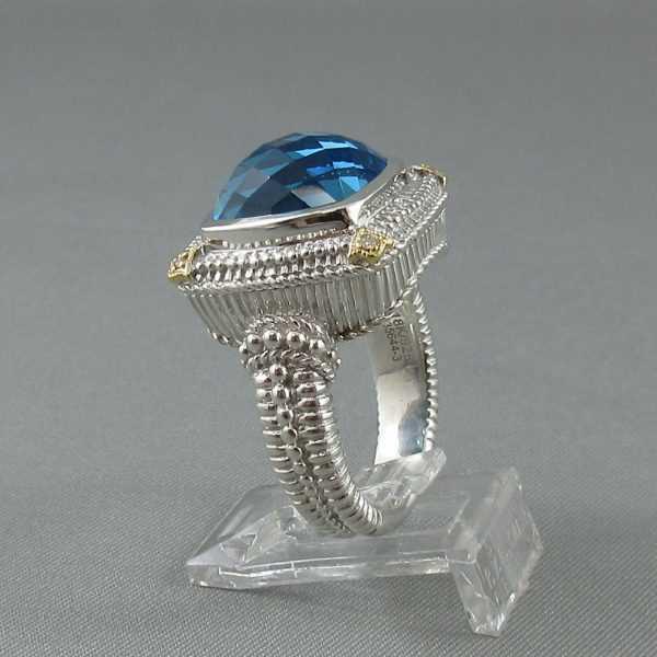 Bague, Topaze et diamants, Gabriel&Co. B6147-2