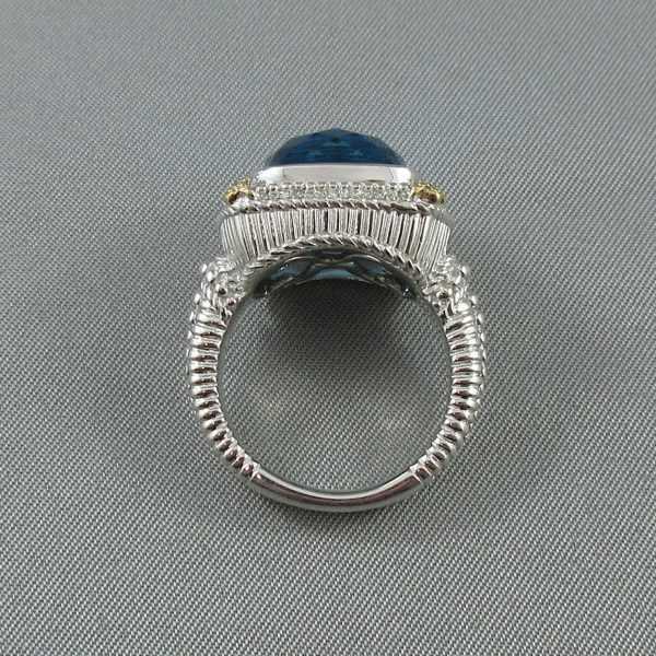 Bague, Topaze et diamants, Gabriel&Co. B6147-3