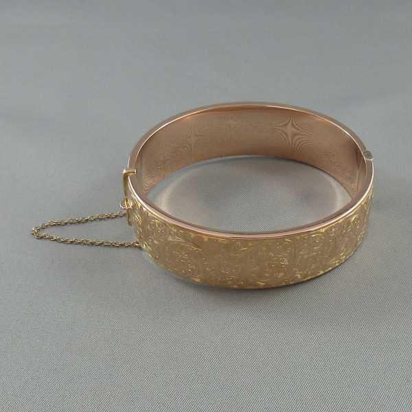 Bracelet, 9K rose, C3126-2