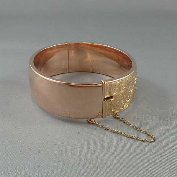 Bracelet, 9K rose, C3126-3