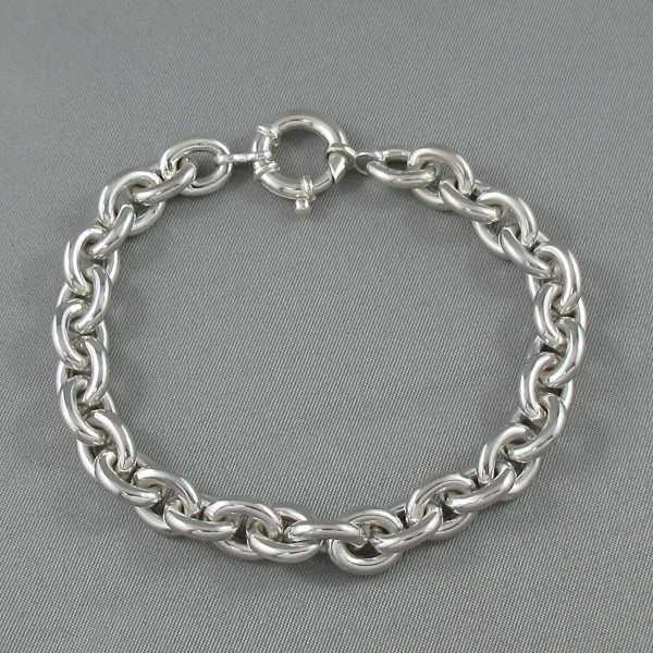 Bracelet maille forçat, B6216-1