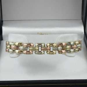 Bracelet 3tons, 14K, B6356-1
