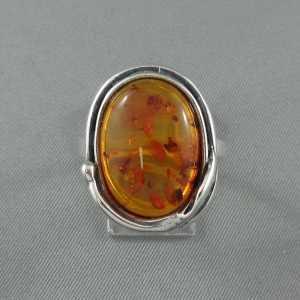 Bague, ambre, B6371-1