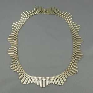 Collier inspiration égyptienne, BIRKS, 10K jaune, B6499-1