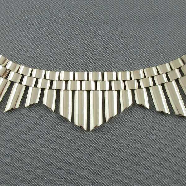 Collier inspiration égyptienne, BIRKS, 10K jaune, B6499-2