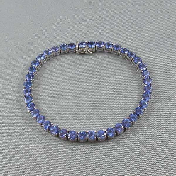 Bracelet, 40 Tanzanites, B6541-2