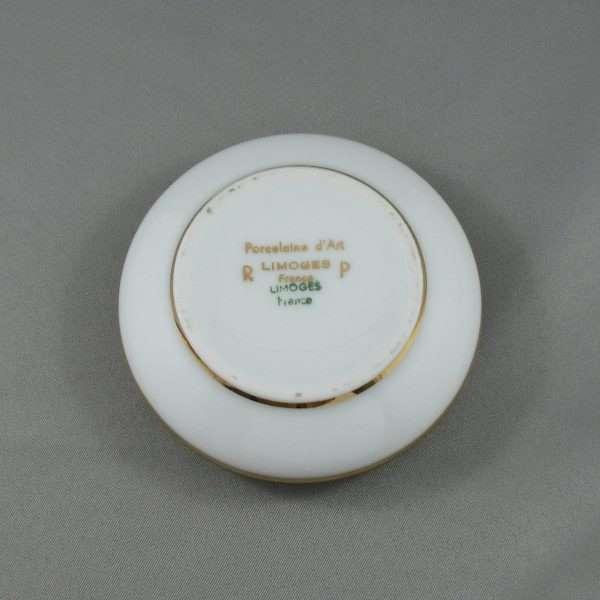 Boîte à bijoux en porcelaine, Limoges, B6564-4