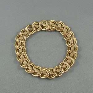 Bracelet 18K jaune. B6584-1