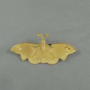 Broche FORTIN - papillon de nuit, B6602-1