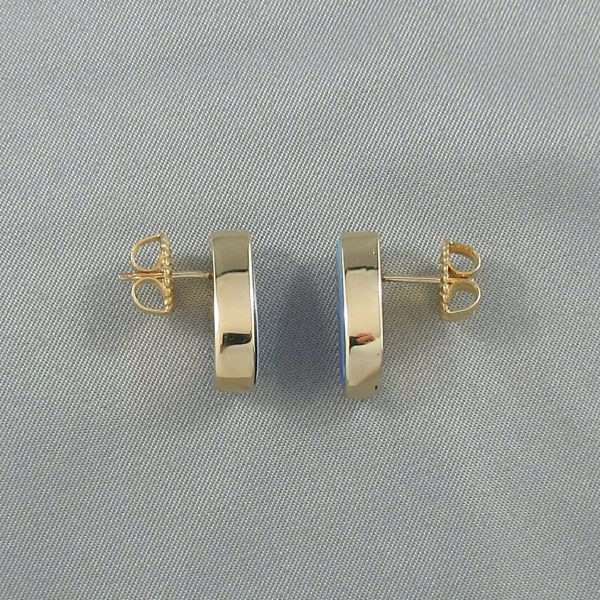Boucles d'oreilles Opales, 14K jaune, B5664-2