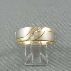 Bague 3 diamants, 1