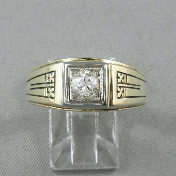 Bague un diamant, 14K, BIRKS, B6743-1