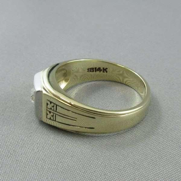 Bague un diamant, 14K, BIRKS, B6743-3