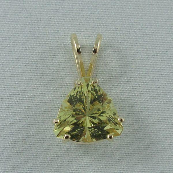 Pendentif Héliodore, 14K jaune, B6857-1