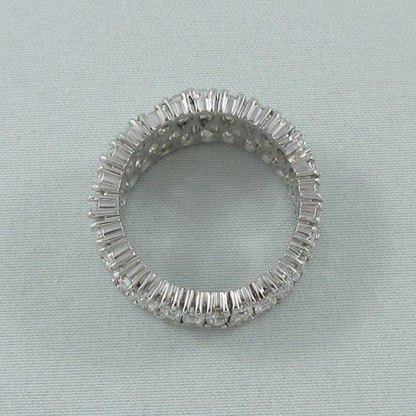 Bague 52 diamants, platine, C3140-4