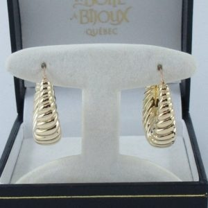 Boucles d'oreilles 18K jaune Charles Garnier Paris, B6914-1