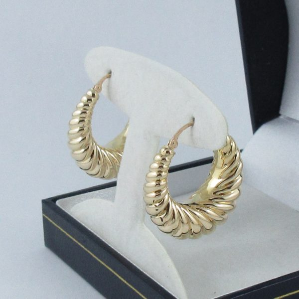 Boucles d'oreilles 18K jaune Charles Garnier Paris, B6914-2