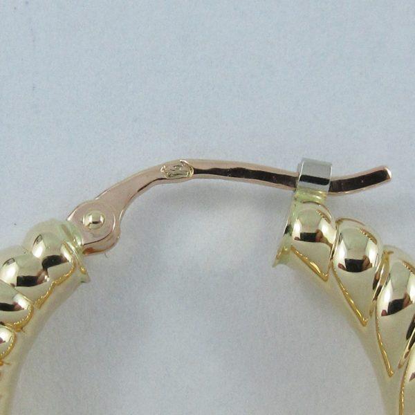 Boucles d'oreilles 18K jaune Charles Garnier Paris, B6914-3