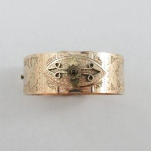 W.E.W&CO, bracelet plaqué or, B6963-1