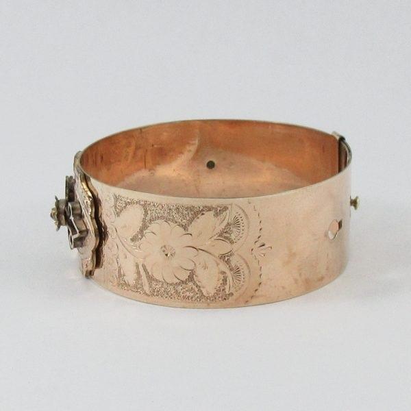 W.E.W&CO, bracelet plaqué or, B6963-2