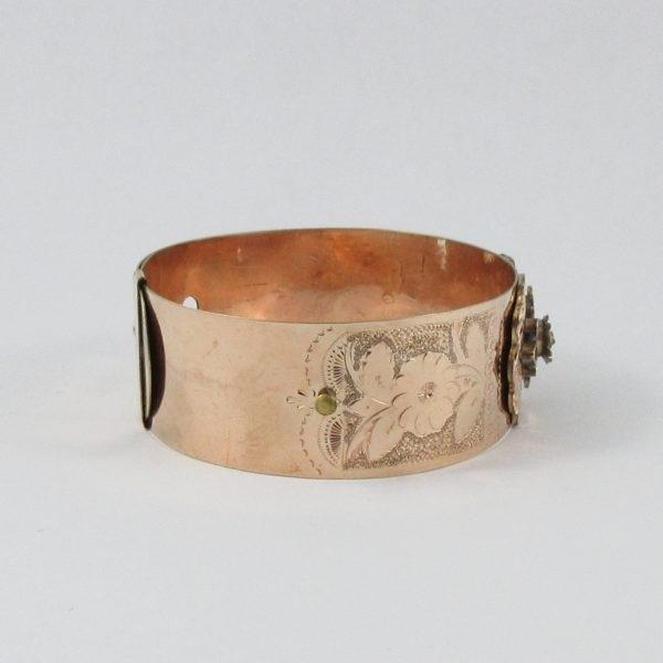 W.E.W&CO, bracelet plaqué or, B6963-3
