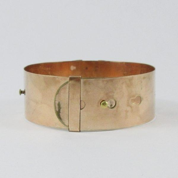 W.E.W&CO, bracelet plaqué or, B6963-4