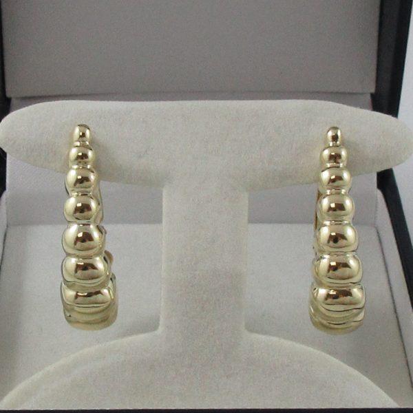 Boucles d'oreilles, 14K jaune, C3142-1
