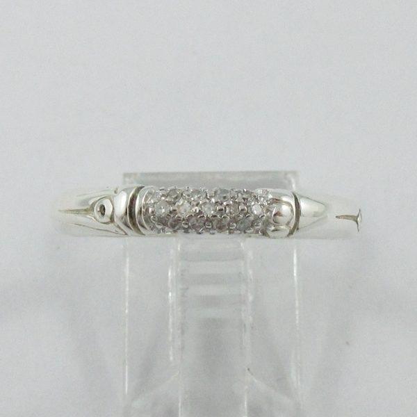 John Hardy, jonc 13 diamants, B7025-1