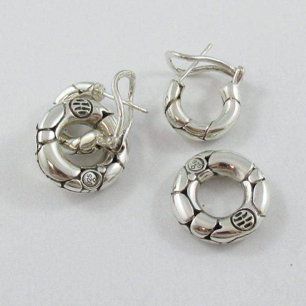 John Hardy, pendants d'oreilles 'Kali', B7027-3