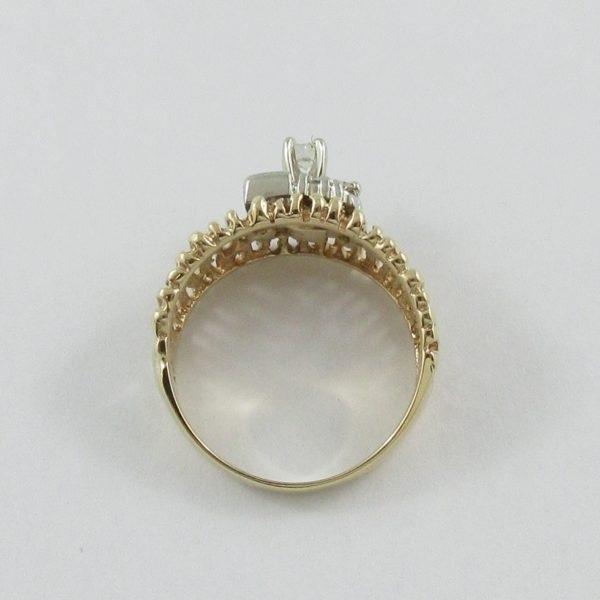 Bague 7 diamants, 14K , B7058-3