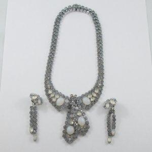 Karu, ensemble (collier et boucles d'oreilles), B7080-1