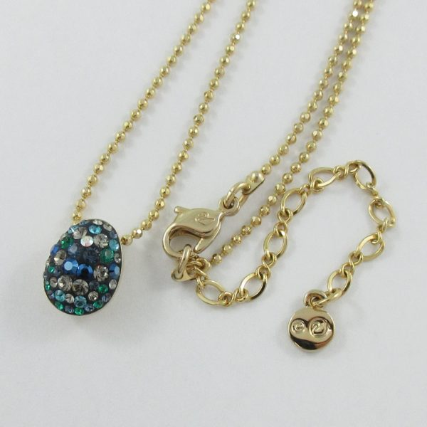 SWAROVSKI ensemble (pendentif, chaîne et boucles d'oreilles), B7083-2