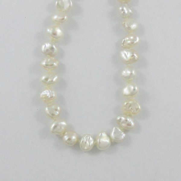 Sautoir, perles d'eau douce 'BIWA', 18K jaune, B7087-2