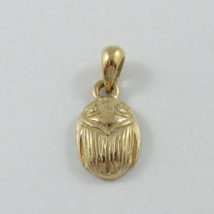 Pendentif scarabée, 10K jaune, B6853-1