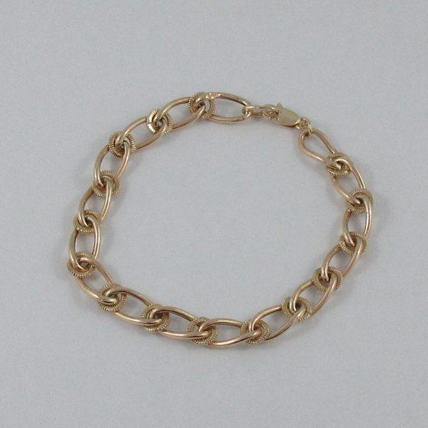 Bracelet, 10K jaune, B7099-1