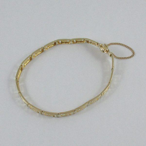 Bracelet, 14K jaune, B7141-2