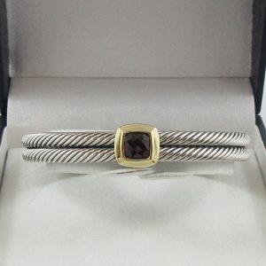 David Yurman, bracelet, grenat, B7156-1