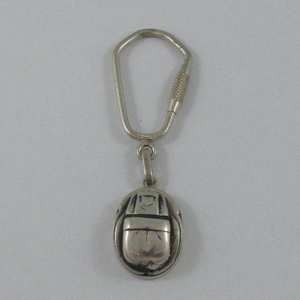 Porte-clefs, argent, B7160-1