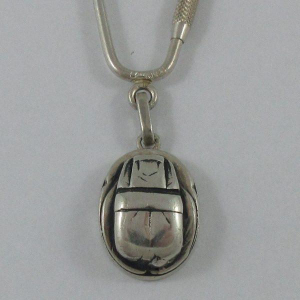 Porte-clefs, argent, B7160-2