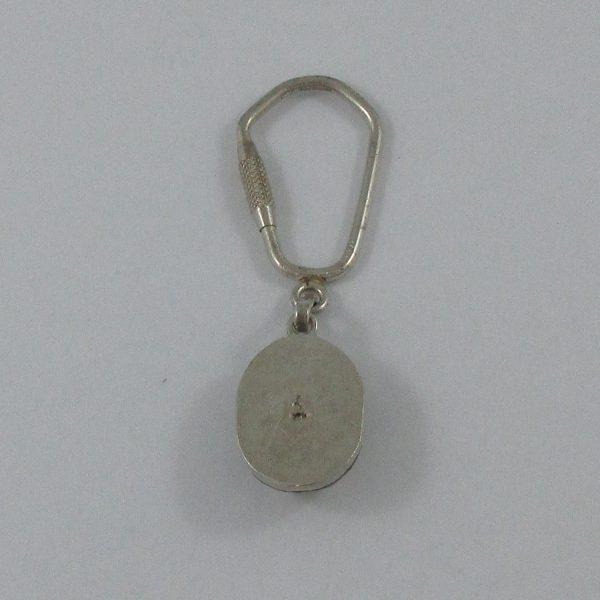 Porte-clefs, argent, B7160-3