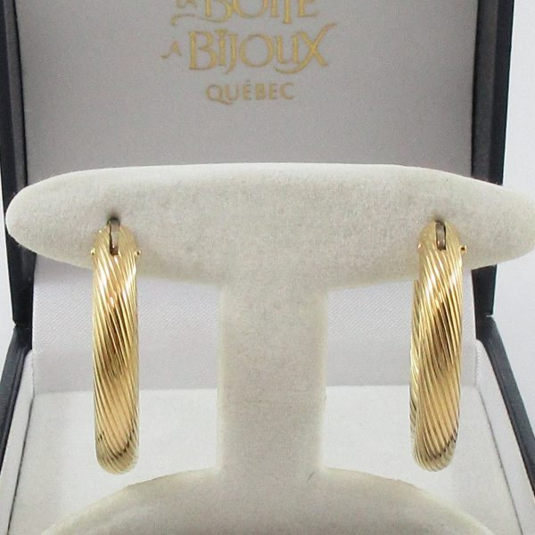 BIRKS, boucles d'oreilles, 18K jaune, B7162-1