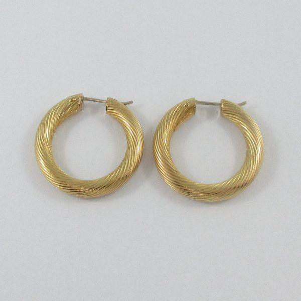BIRKS, boucles d'oreilles, 18K jaune, B7162-3