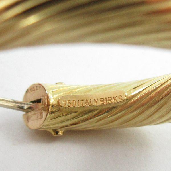 BIRKS, boucles d'oreilles, 18K jaune, B7162-4